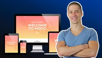 Видеокурс - Mogo - адаптивная верстка сайта с нуля для начинающих